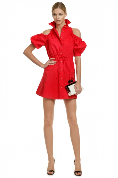 It Girl Shirt Dress