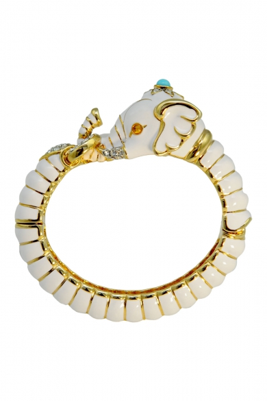 Ivory Ganesha Bangle