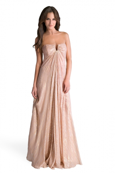 Keyhole Goddess Gown