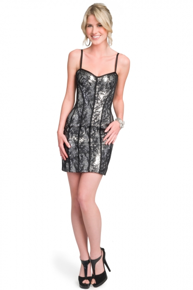 Lace corset sheath