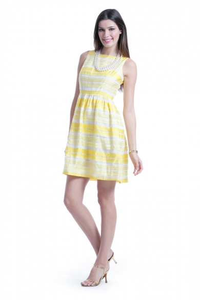 Lemon Sorbet Dress