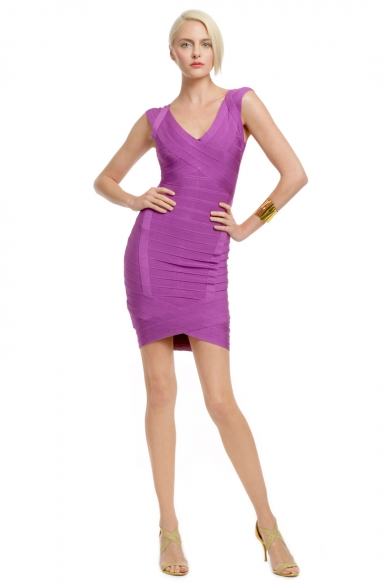 Lilac Infused Cocktail Dress