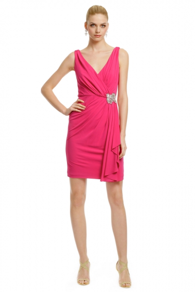 Magenta Royal Standard Dress