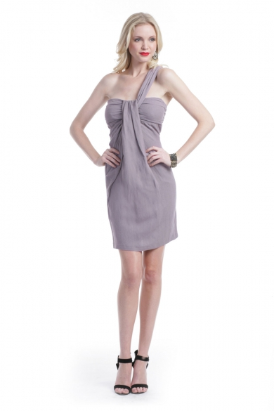 Mauve On Over Dress