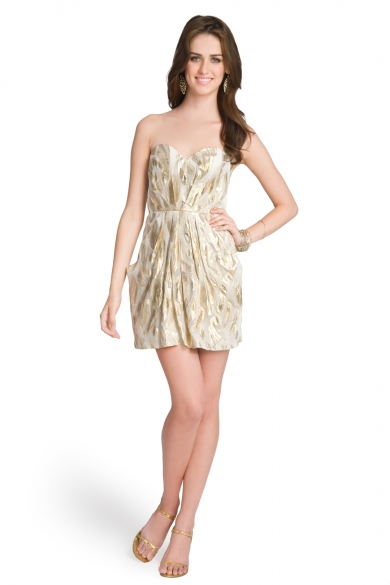 Metallic Mesmerizer Dress