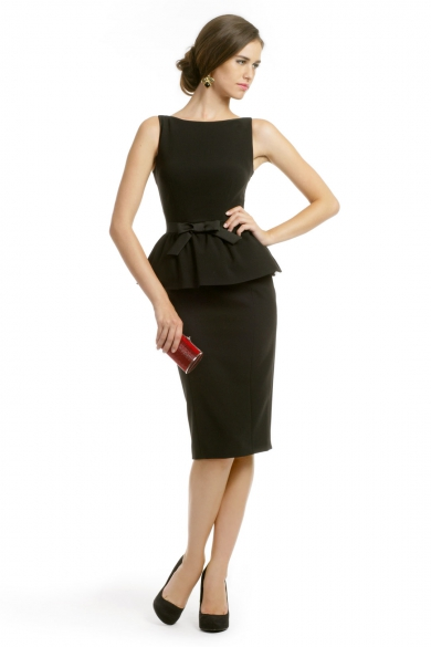 Michelle Peplum Dress