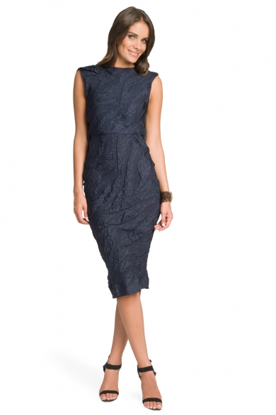 Midnight Drape Back Dress