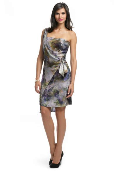 Monet Side Tie Dress