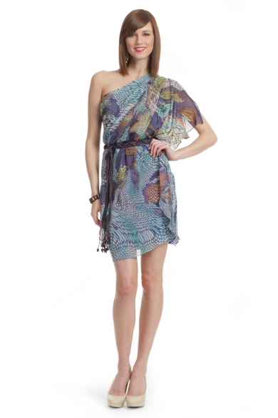Mosaic Caftan Dress