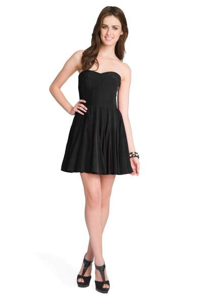 Noir Dancer Bodice Dress