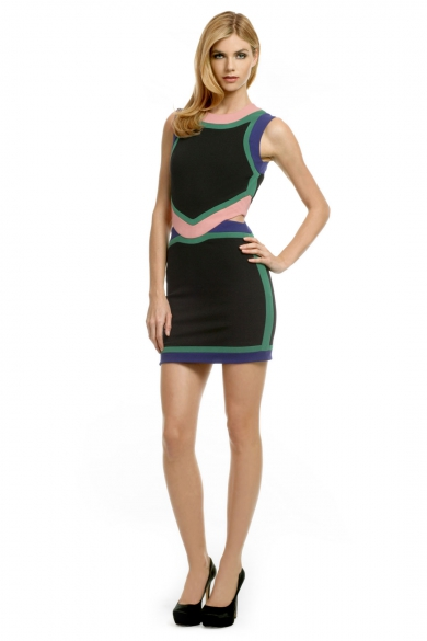 Now We're Colorblocking Dress