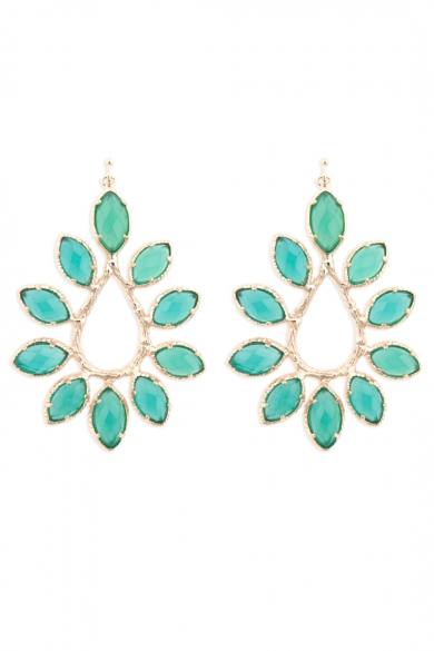 Nyla Emerald Earrings