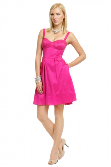 Pinch of Pink Flare Dress
