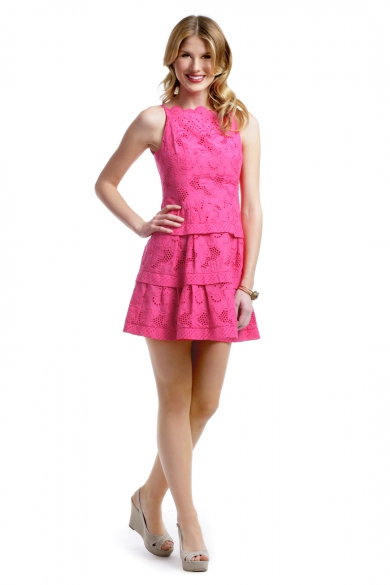 Pink Daisies Dress