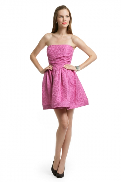 Pink Digital Skirt Dress