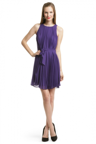Pleat Perfection Dress