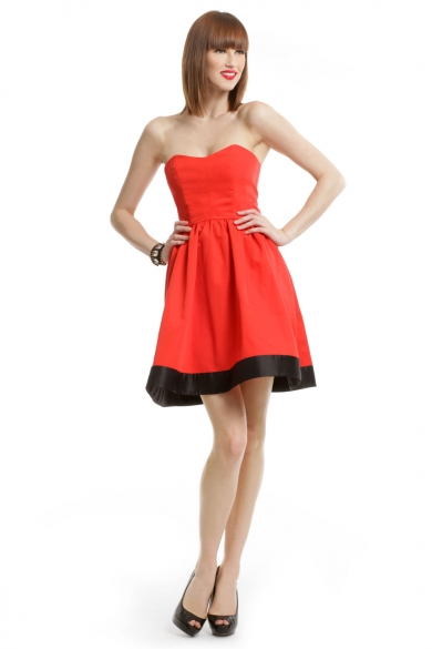 Poppy Sweetheart Dress