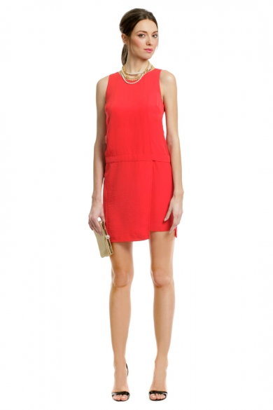 Primary Contrast Zip Dress