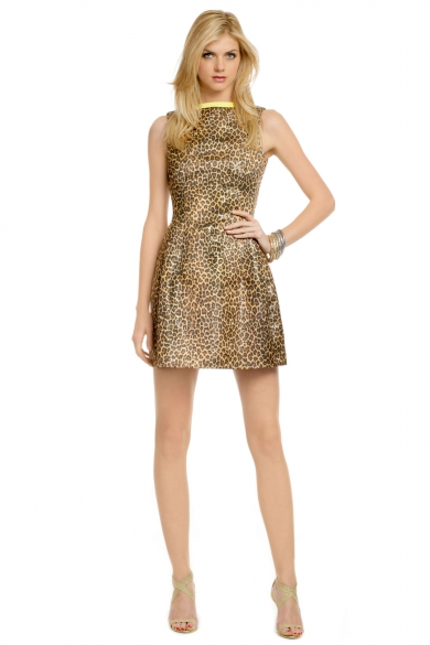 Purfect Leopard Dress