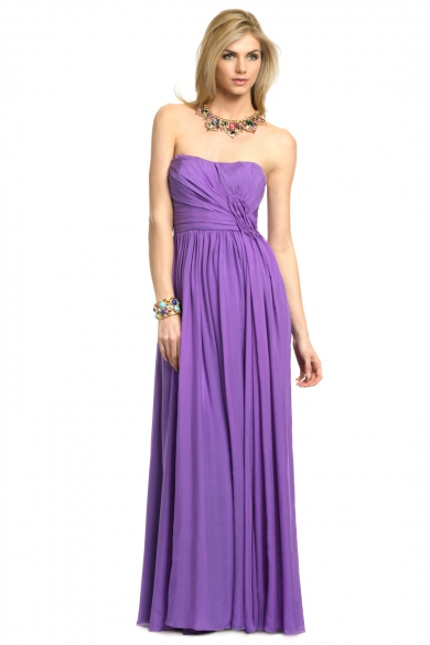 Purple Iris Gown