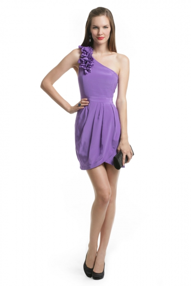 Purple Rizzie Dress