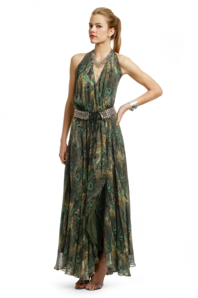 Queen of the Jungle Gown