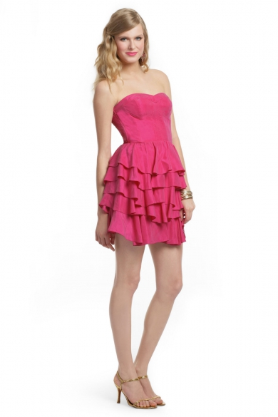 Raspberry Layer Cake Dress