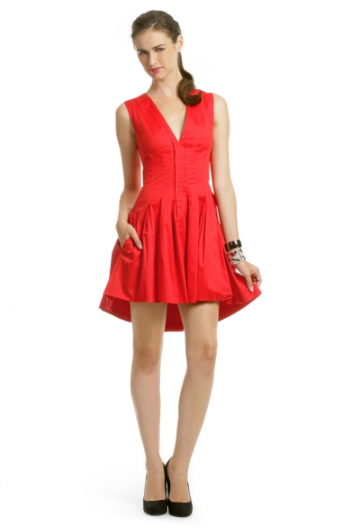 Red Hot Addiction Dress