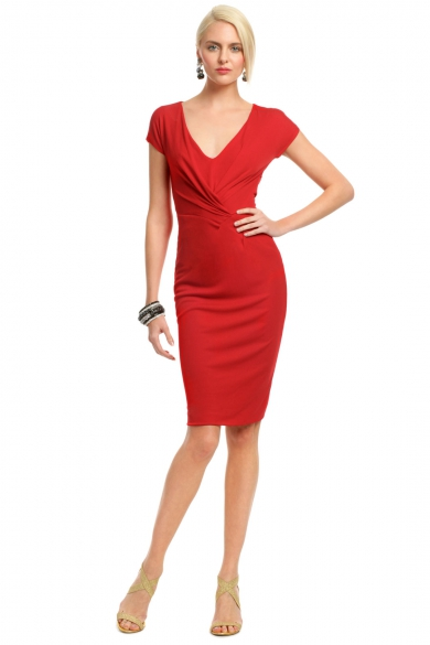 Red Rimini Dress