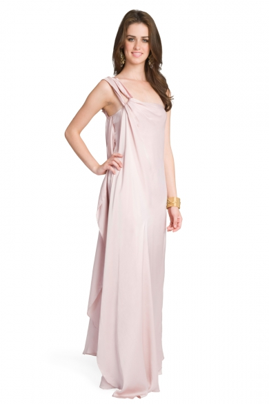 Romantic Rose Grecian Gown