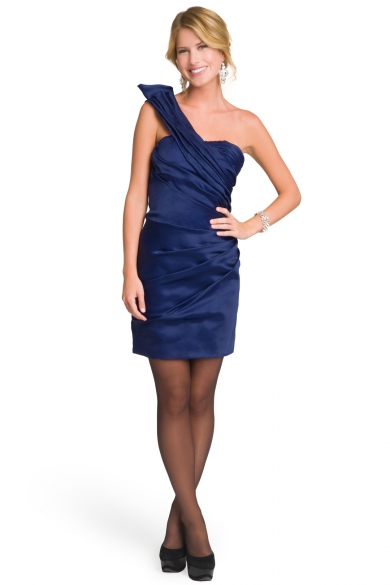 Royal Rage Ruffle Dress