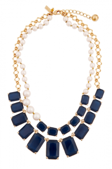Sapphire Treasure Chest Necklace
