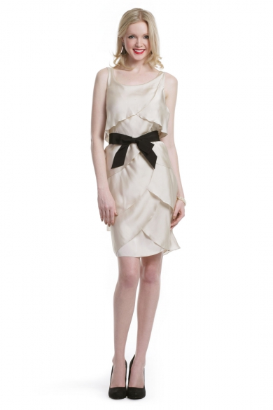 Satin Bow Surprise Dress