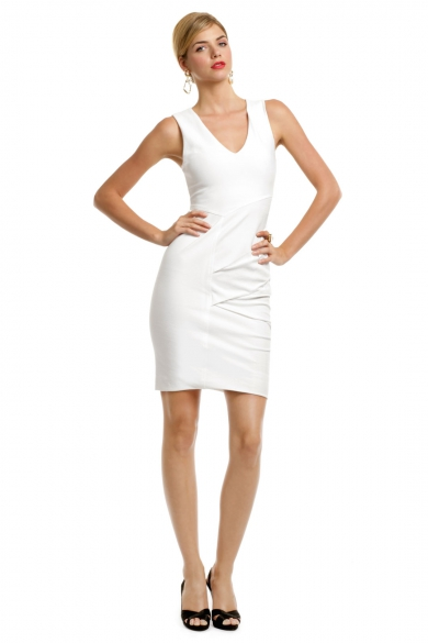 Saturn White Whirlwind Dress