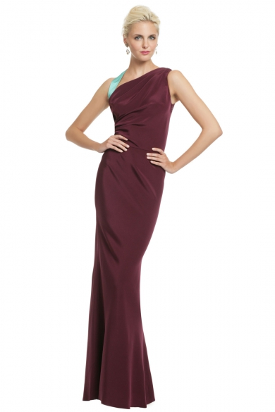 Sea Grape Contrast Gown