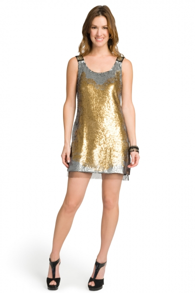Sea of Sequins Shift