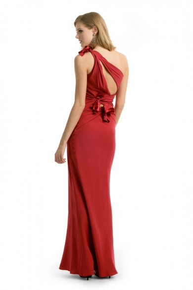 Seductive Red Scarlett Gown