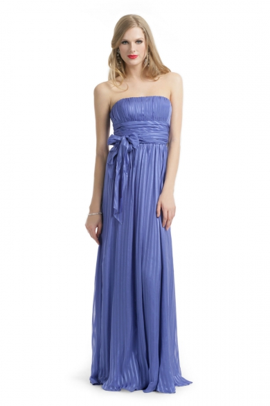 Silk Stripe Gown