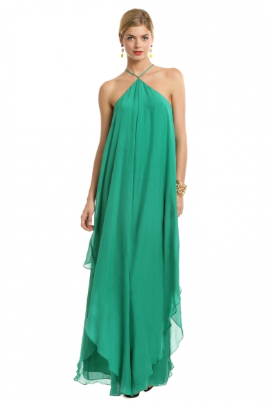 St. John Draped Gown