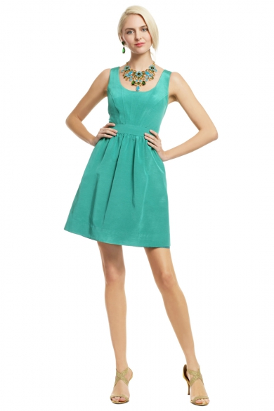 Teal Pearl of Wisdom Dress