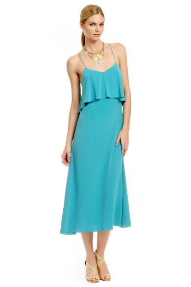 Teal Waters Cami Dress