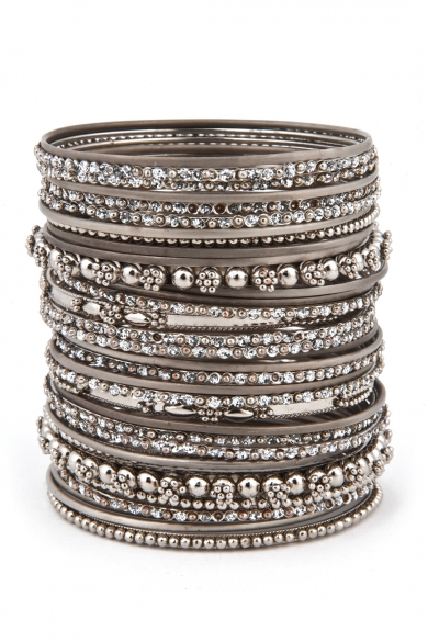 The More the Merrier Bangle Set