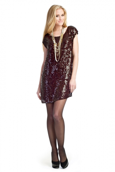 The Sassy Sequin Sheath