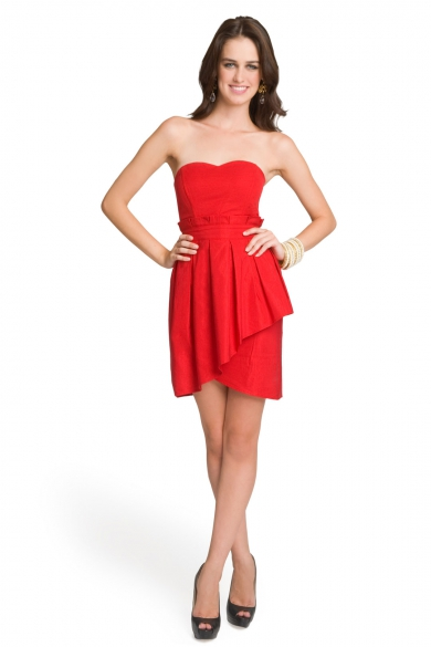 Tiered Tulip Dress