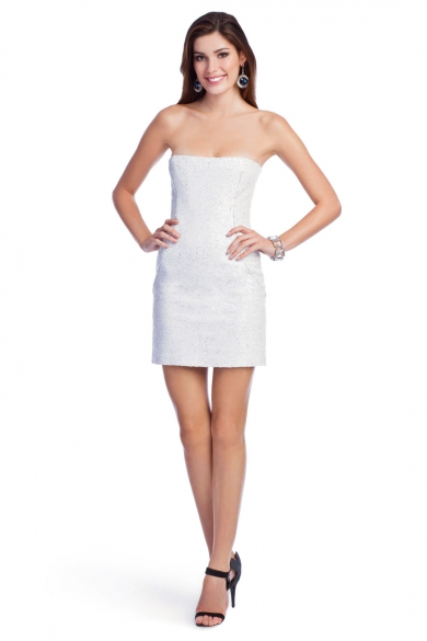 White Hot Sequin Dress