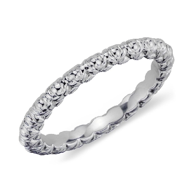 Flora Vida(TM) Wedding Ring in Platinum