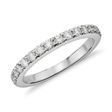 Pave Diamond Ring in 14k White Gold (1/2 ct. tw.)