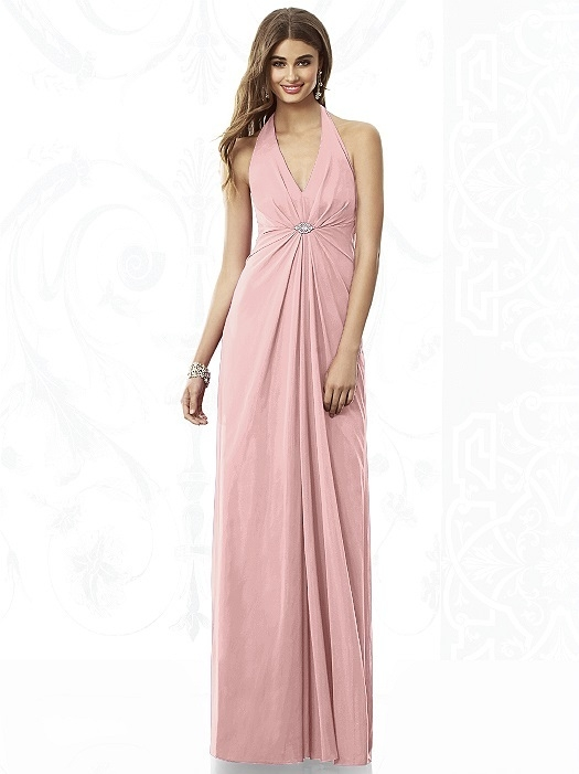 After Six Bridesmaids Style 6692 in rose