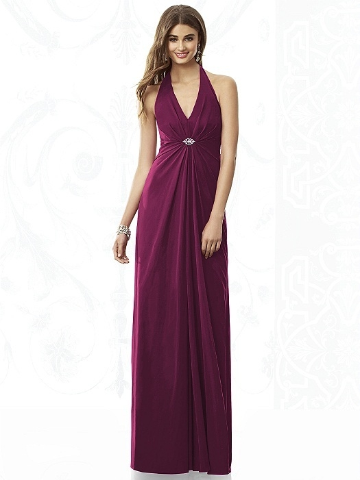After Six Bridesmaids Style 6692 in ruby