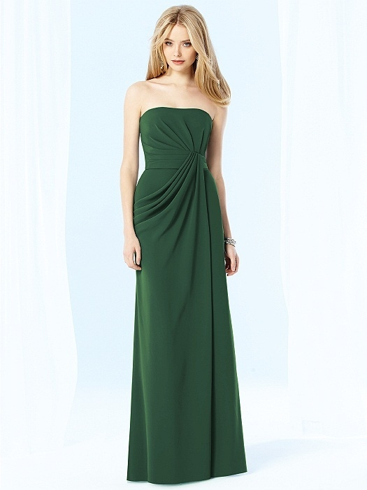 After Six Bridesmaids Style 6700 in Hampton Green